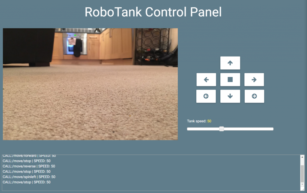 robotank interface